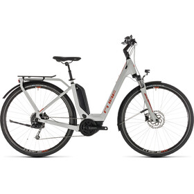 Cube Touring Hybrid 500 E-Trekking Bike Easy Entry grey